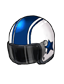 Rush Blue Helmet