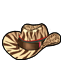 Leopard Cow Boy Hat(Kooh)